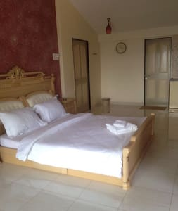 Master Bedroom in Haveli - Panchgani