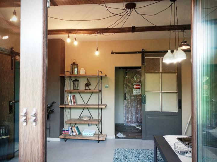 Artistic – industrial design apartment in Plovdiv