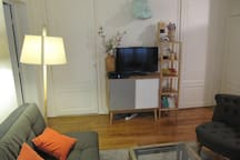 Living-room and TV spot