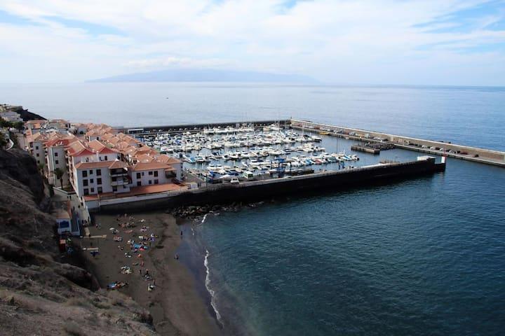 App, Los GIgantes, Puerto de Santiago, Vista Mare