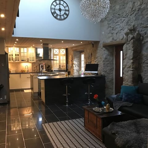 Charming stone house with personal touch