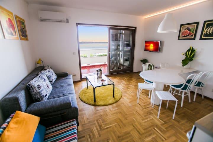 Grand View - 5min walk to the beach - Split - Lägenhet