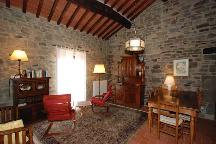 Komfortable Wohnung in toskanischem Steinhaus - Castelfranco di Sopra - Condominium