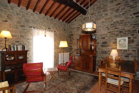 Komfortable Wohnung in toskanischem Steinhaus - Castelfranco di Sopra - Condomínio