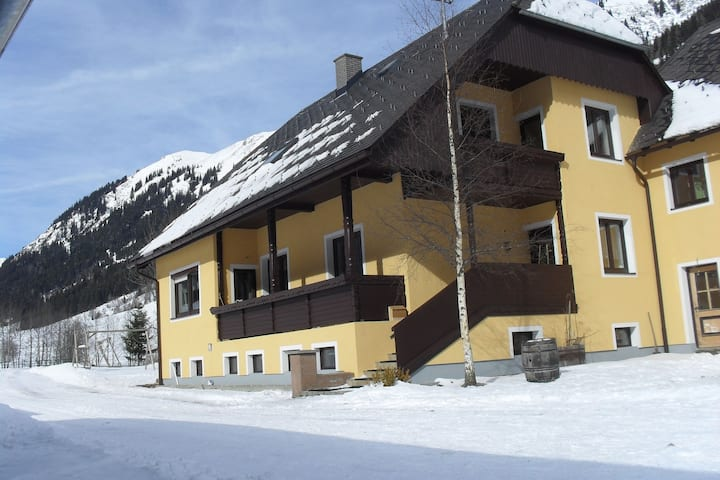 Spacious Cottage near Ski Area in Pusterwald