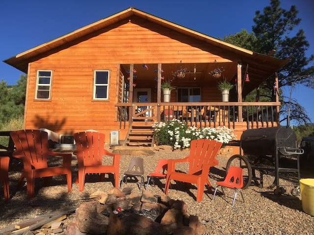 Cozy Africabin, 3 BR Secluded, Quiet, Private - Monticello - Cabin