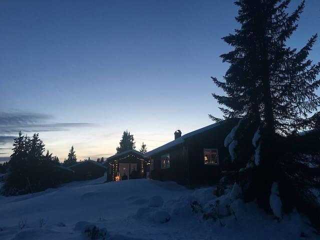 Enerlia 103 - Koselig hytte på Storåsen, Sjusjøen