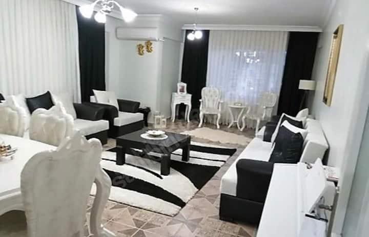 İskenderun günlük kiralık LÜX 2+1 daire