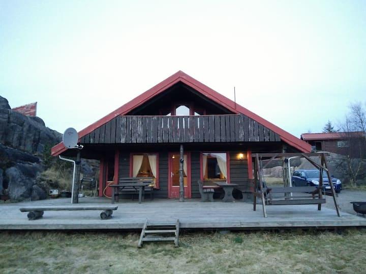 Flott hytte i Bogsdalen