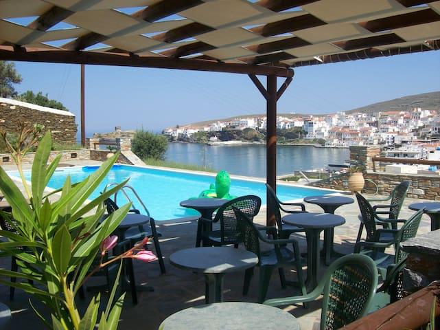Vassiliki Studios (Με θέα τον κήπο και την πισίνα)
