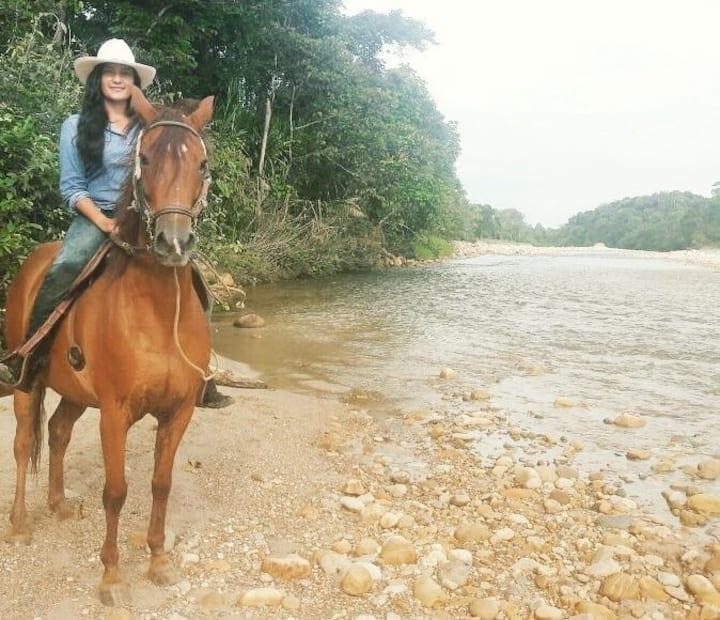 Disfruta  de la naturaleza del llano Colombiano