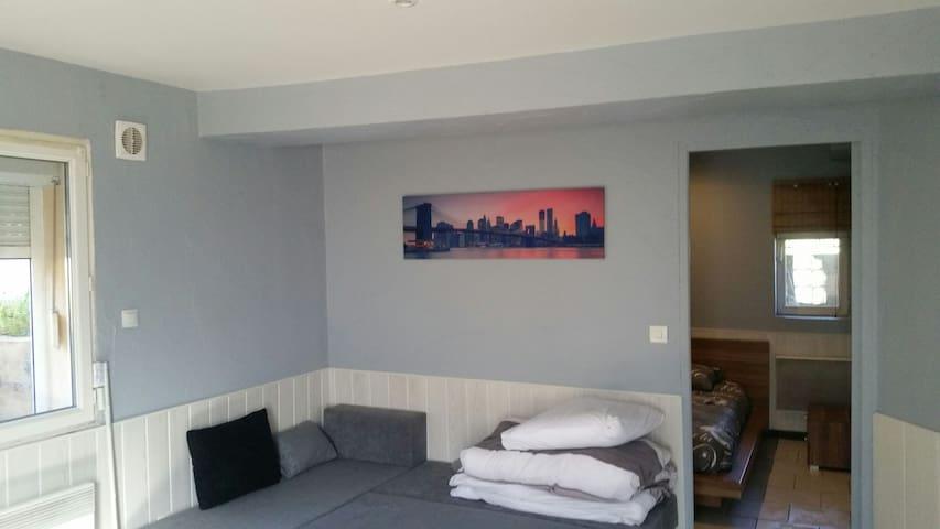 Loue logement à 6min de Dijon centr - plombières les dijon - Apartment