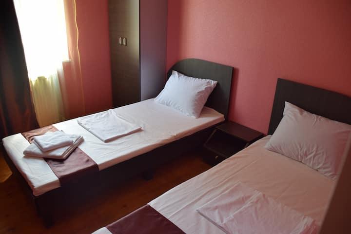 Crossway Hotel room 7