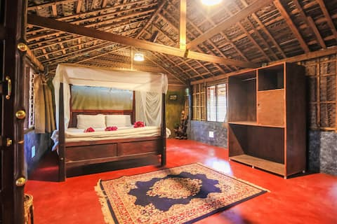 Eco Hut In Patnem with Spa and Yoga Facilities