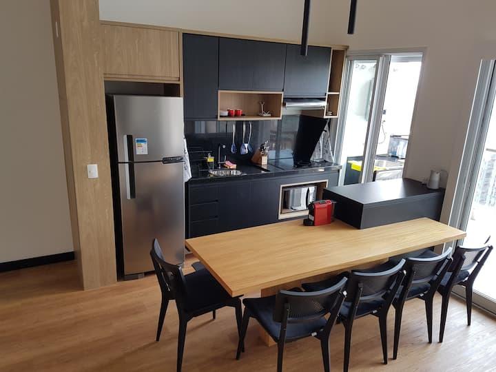 Lindo e confortável loft na Vila Olimpia