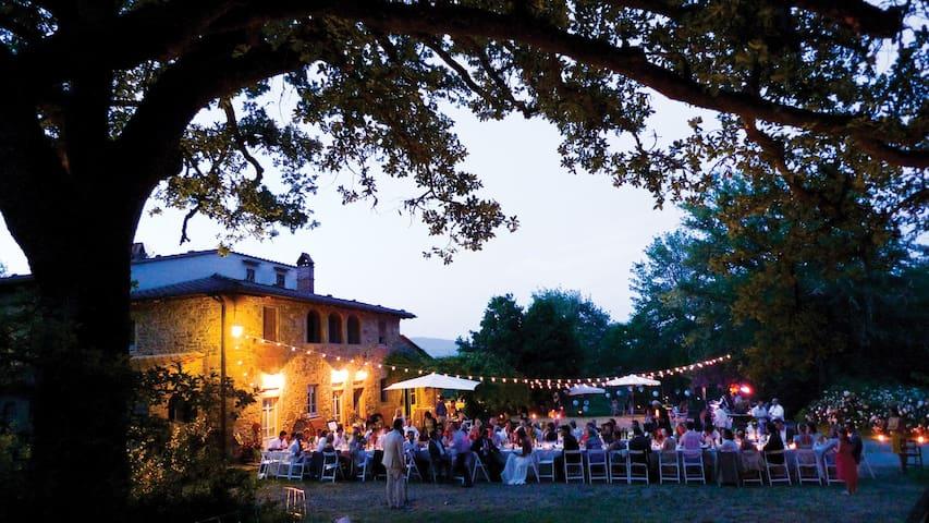 Villa near Florence: Pool, Theater, Vast garden
