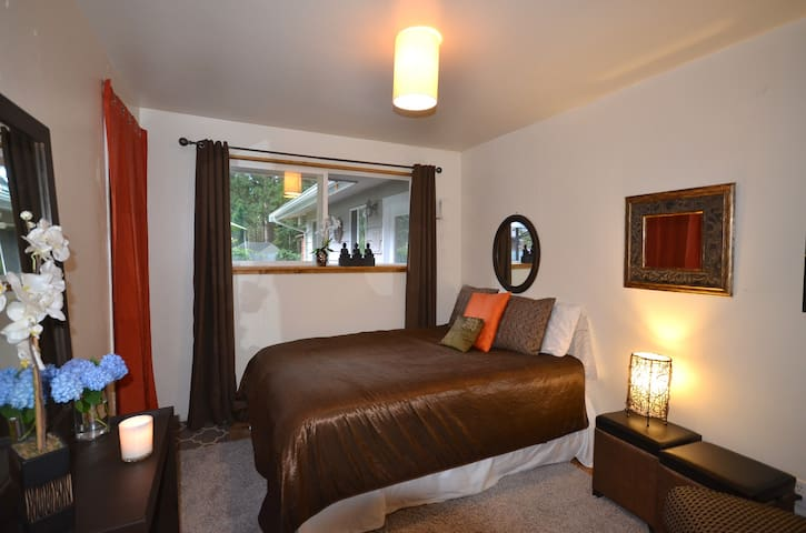 Cozy & quiet with great location... - Edmonds - Talo