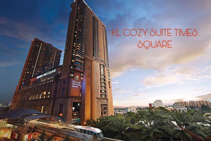 KL Cozy Suite @ Berjaya Time Square( Two Bedroom )