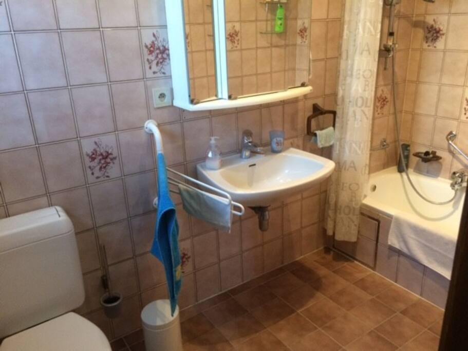 WC et salle de bain privatisées
