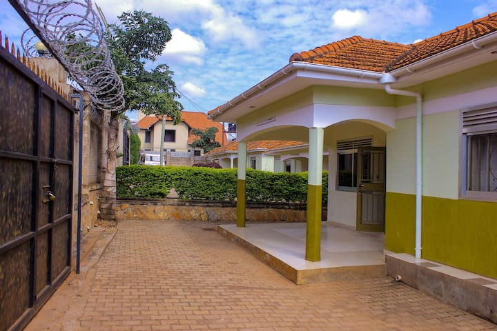 Retreat to a vibrant, private home in Kampala ...