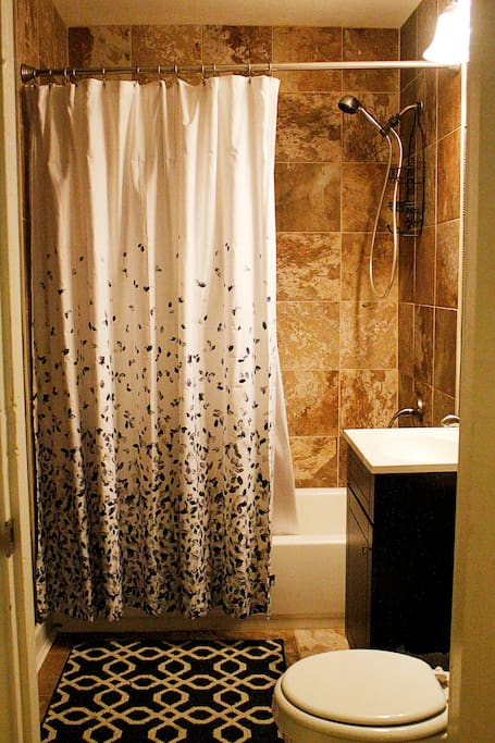 Private Guest Shower