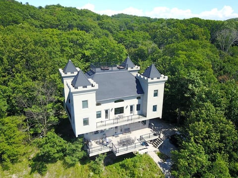 The Castle has a Royal Feel that Sits Right on Lake Michigan!