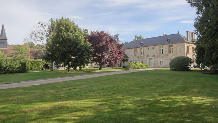 A charming 16th manor near Giverny - Fontaine-sous-Jouy - Huis