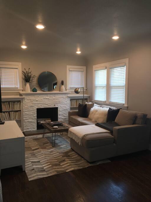Main level living area