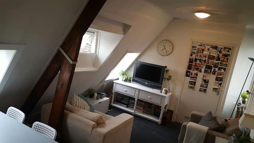 Knusse dubbele kamer hartje Leiden - Leiden - House