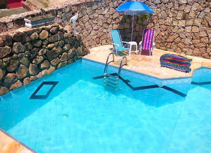 Casa Ilhabela Piscina Privativa 500mts da Praia