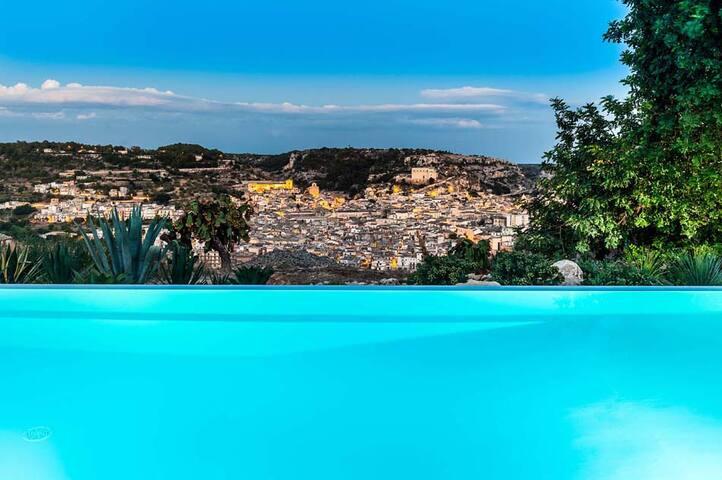 Elegant villa with private pool & spa area