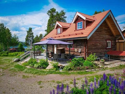Casa de hóspedes Sjöbacka junto ao lago