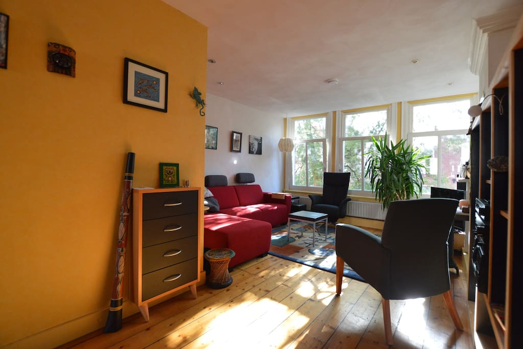 Overview of the living room