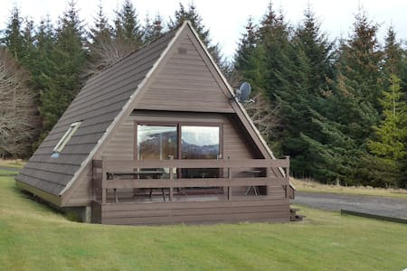 Cosy Lodge The Scottish Highlands - Glenlivet - Hus