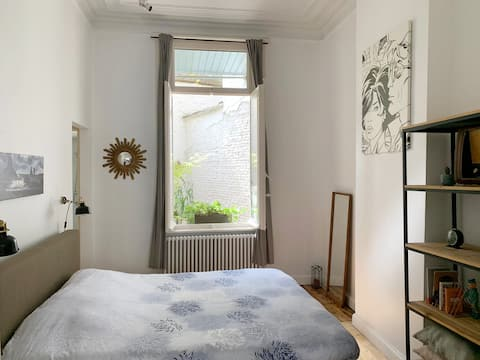 'Cleyn Antwerpen': 19th century apartment+terrace