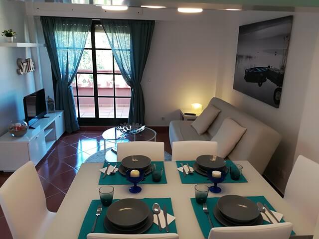 Apartamento Camp de Golf en Isla Canela, Huelva.