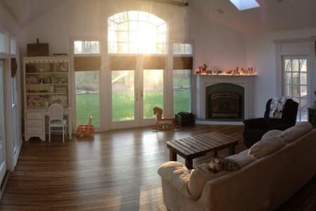 Beautiful home flooded with light and space! - Grand Island