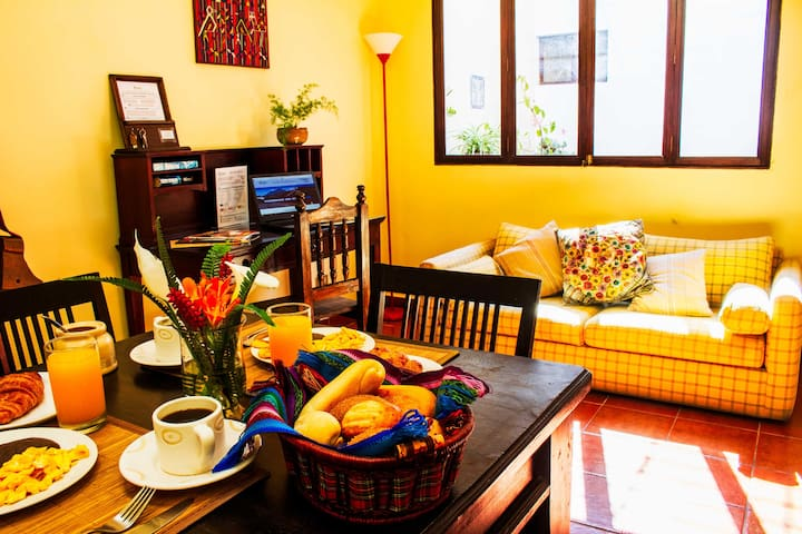 Colonial apartment fully equipped - A2
