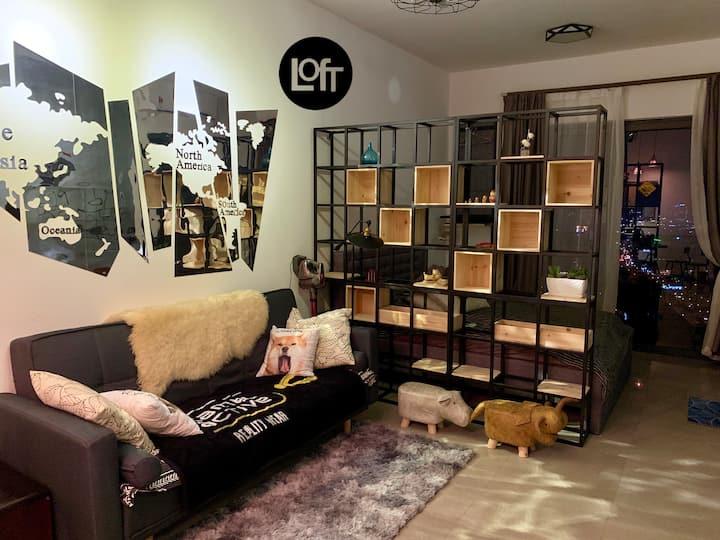 @LOFT Imperio Residence - WiFi /2PAX/ High BALCONY