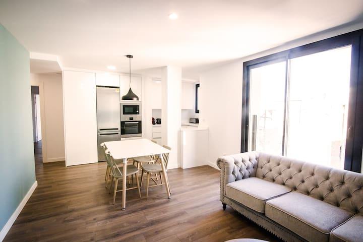 Apartamento de diseño en el centro de Reus