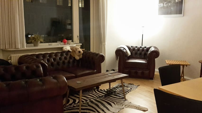 Ideal single traveler Accomodation - Frederiksberg - Flat