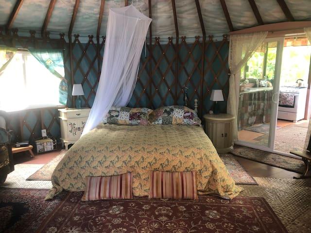 Magical Kona Jungle Yurt
