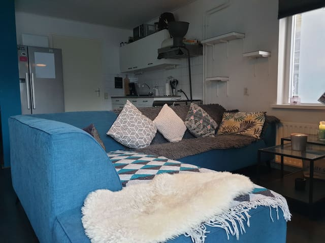 Comfortable, cozy apartment 15min to Amsterdam