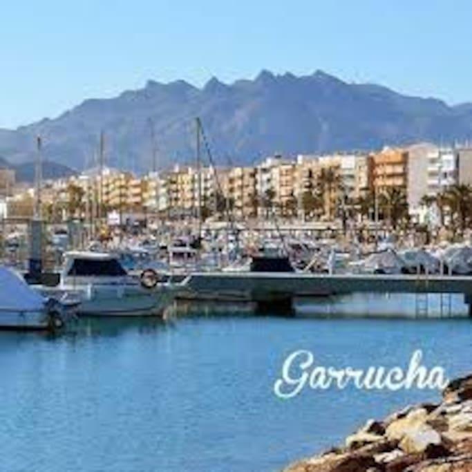 Garrucha, pueblo costero de pescadores!