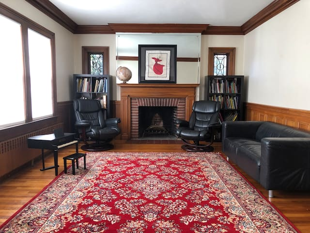 NEW LIST 4br home near Boston & outdoors w/parking