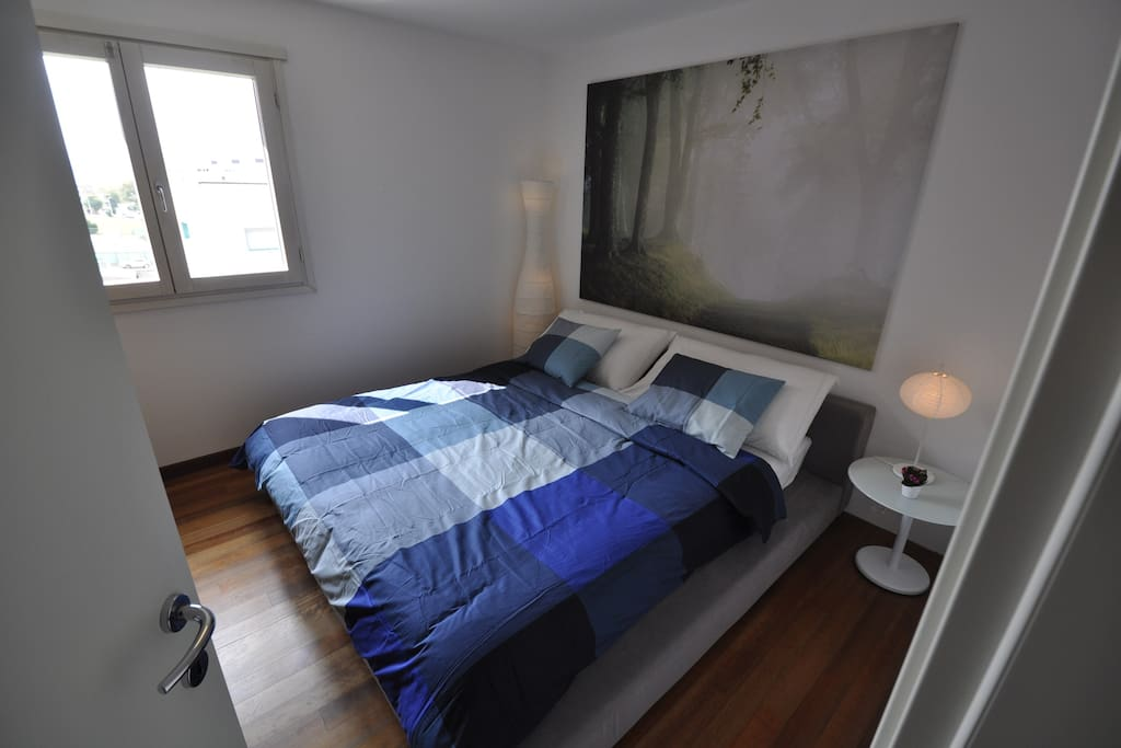 Master bedroom with 180cm double bed
