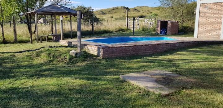 Casa de campo y cabañas Lautaro