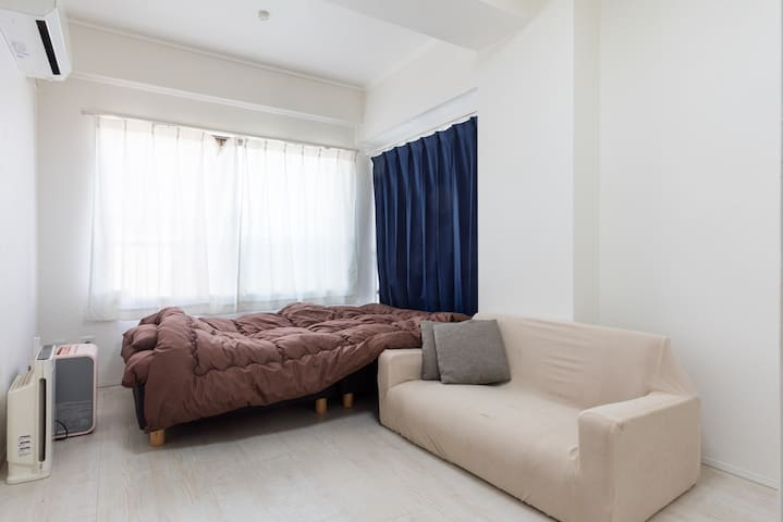 Simple private room in IkejiriOhashi+portable wifi - 世田谷区 - Appartamento