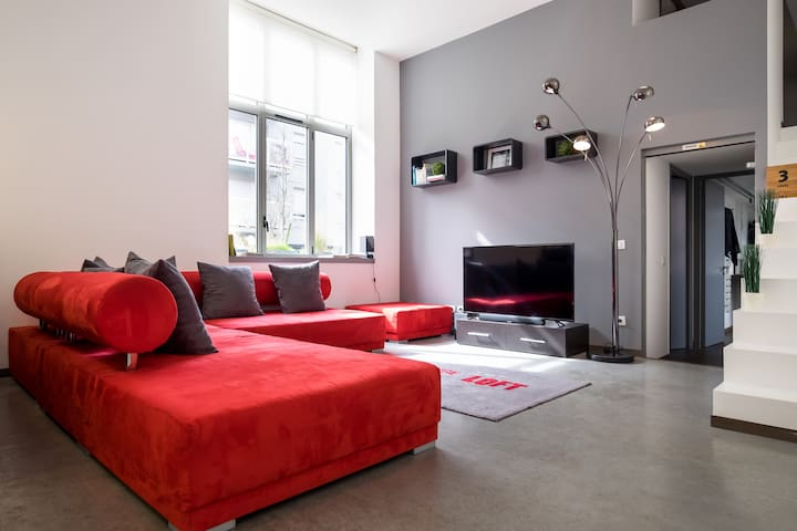 Wonderfull loft 118 m2 / 3 steps ( Parc Barbieux) - Croix - Loft