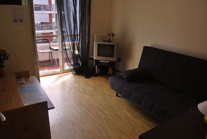 A room with balcony near the city centre of Lugano - Lugano - Pis